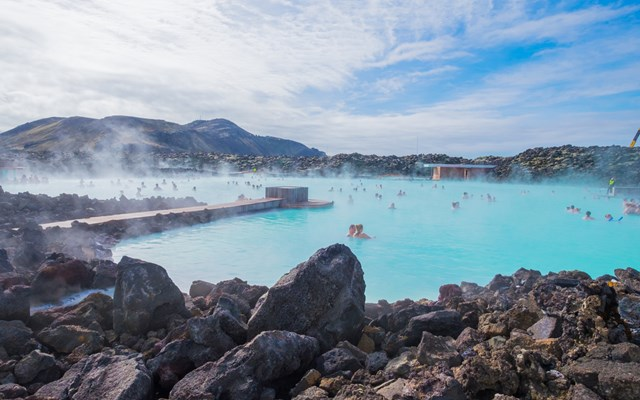 3. The Blue Lagoon and geothermal hot springs
