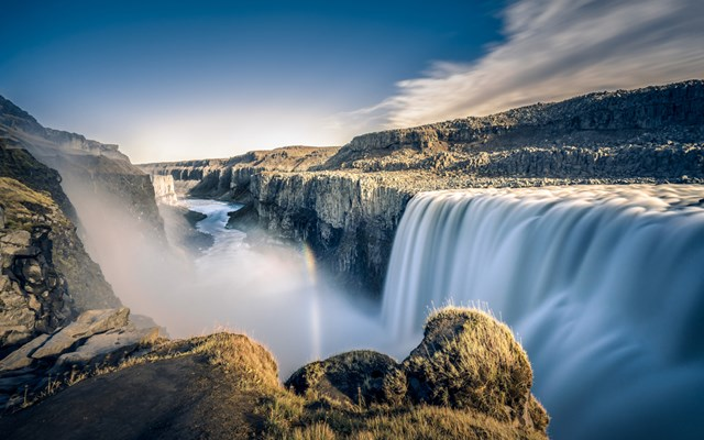 4. Dettifoss - Europe's largest waterfall